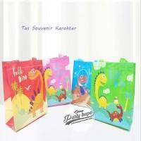 Tas Souvenir Ulang Tahun / Goodie Bag / Tas Ulang Tahun dinosaurus - S