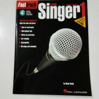 Buku vocal Fast Track Lead Singer 1 for male and female voice