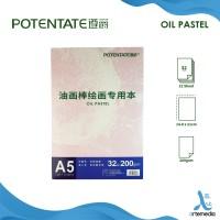 Buku Gambar A5 200gsm Potentate Oil Pastel Pad