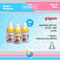 PIGEON BOTOL PP RP PERISTALTIC MM 50 ML| Bottle Susu Dot Nipple