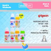PIGEON BOTOL PP RP PERISTALTIC MM 120 ML| Bottle Susu Dot Nipple Dot