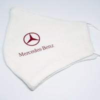 Masker Mercedes Benz red