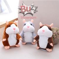 Mainan Talking Hamster Boneka Toy Bisa Bicara Ngomong Lucu