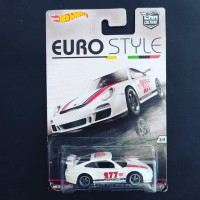Hot Wheels Porsche 911 GT3 RS Hotwheels Euro Style White SUPER LANGKA