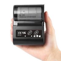 Printer Mini Mobile Portable Bluetooth Thermal Kasir 58Mm Zeya Zy-01