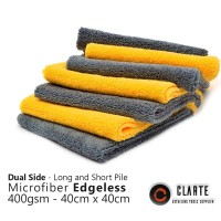 EDGELESS MICROFIBER 380GSM 40 X 40 DUAL SIDE LONG AND SHORT PILE
