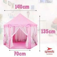 Tenda Anak Princess LX 018-24 Kastil Mainan Indoor Outdoor Portable