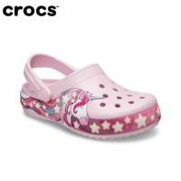Sendal Anak Perempuan Crocs Lab Unicorn Original