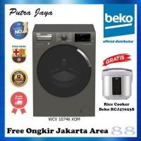 Mesin Cuci Beko Front Load 10Kg Inverter WCV 10746 XOM