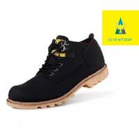 Sepatu Boots Pria casual Caterpillar Nitrogen Steel Toe Safety Boots