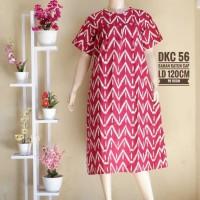 Dress batik katun cap 5