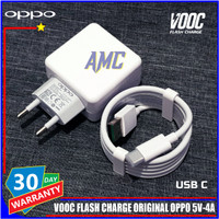Charger Oppo K3 VOOC Flash Charge ORIGINAL 100% USB C 5V-4A