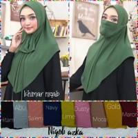 Hijab masker jersey(adem.lembut.)standar size multifungsi