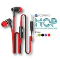headset Hippo HOP Handsfree Earphone original support andorid iphone