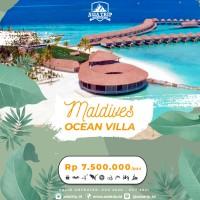 Paket Ocean Villa Maldives 4D3N AsiaTrip