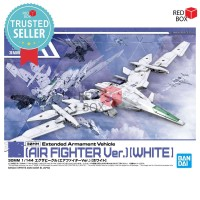 Air Fighter Ver White 30MM Extended Armament Vehicle Bandai EV 01