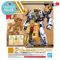 30MM Option Armor Yellow for Special Operation Rabiot Exclusive Bandai