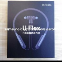 headset bluetooth samsung sport u flex slot memory mic earphone - Putih