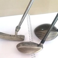 Second stick golf driver callaway, putter, rescue & bag golf (murah)