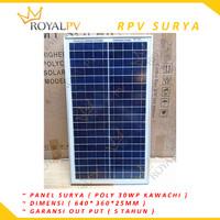 panel surya 30wp solar cell 30wp solar panel 30wp poly