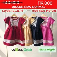 [ 1 s/d 12 ] Dress Baju Pesta Anak Perempuan Kualitas Export DO 231 - Navy, 5