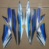 Striping List Body Honda Spacy Fi 2013 - Hitam Biru