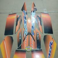 Striping List Body F1 ZR 2003 - Hitam Orange