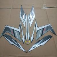 Striping List Body Honda Vario Techno 110 CBS 2011 - Hitam Silver