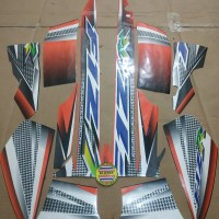 Striping List Body F1 ZR 2004 - Hitam Orange
