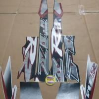 Striping List Body F1 ZR Clutch 2001 - Hitam Silver Abu