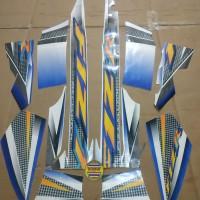 Striping List Body F1 ZR 2004 - Putih Biru
