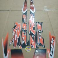Striping List Body F1 ZR Clutch 2001 - Hitam Orange