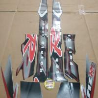 Striping List Body F1 ZR Clutch 2001 - Hitam Silver Merah