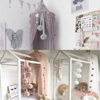 Jaring Mesh Ukuran 60cm Untuk Dekorasi Kamar Anak Perempuan