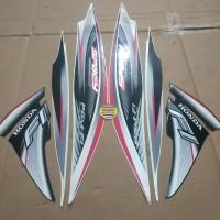 Striping List Body Honda Spacy Fi 2012 - Putih