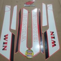Striping List Body Honda Win 100 1994 - Merah Putih
