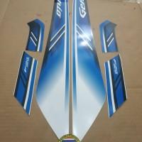 Striping List Body Honda Genio ISS 2019 - Putih Biru
