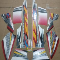 Striping List Body F1 ZR 2004 - Putih Merah