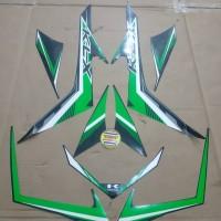 Striping List Body Kawasaki KLX 150 - Hitam Hijau