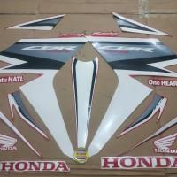 Striping List Body Honda CBR 150 LED 2019 - Merah Putih
