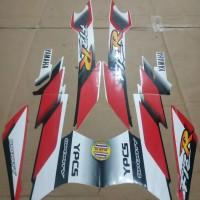 Striping List Body F1 ZR M 2001 - Putih Merah
