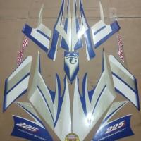 Striping List Body Scorpio 225 2004 -Biru Putih
