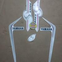 Striping List Body Yamaha Mio S 2018 - Putih