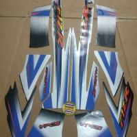 Striping List Body F1 ZR Sporty 2003 - Silver Hitam
