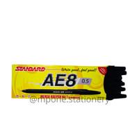 Pulpen STANDARD AE8 0.5 Hitam/Merah/Biru