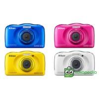 MCM - Nikon Coolpix W100 Blue Underwater Kamera Garansi Resmi 1 Tahun
