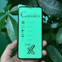 CERAMIC TEMPERED GLASS FULL 100D IPHONE 6 6G 6S 7 8 PLUS X XR XS MAX