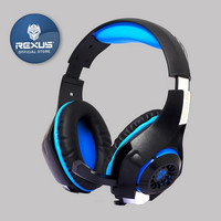 Rexus F55 Headset Gaming Vonix with Mic LED F-55 - S35