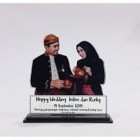 Plakat Unik untuk Hadiah Pernikahan / Wisuda by Mutiara Pelaminan