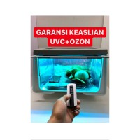 UVC Box sterilizer / box sterilisasi / box uvc / box sterilizer / UV - bell timer 8w